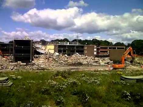 Demolished Crown Woods
